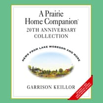 A Prairie Home Companion 20th Anniversary by Garrison Keillor audiobook