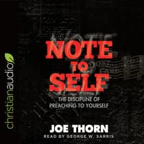 Note to Self by Joe Thorn audiobook