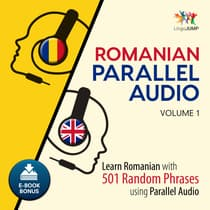 Romanian Parallel Audio Volume 1 by Lingo Jump audiobook
