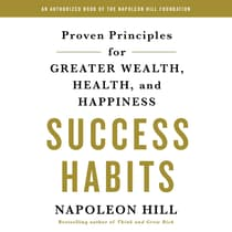Success Habits by Napoleon Hill audiobook