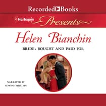 Bride, Bought and Paid For by Helen Bianchin audiobook