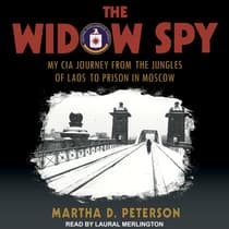 The Widow Spy by Martha D. Peterson audiobook