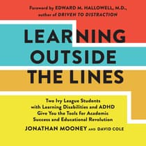 Learning Outside The Lines by Jonathan Mooney audiobook