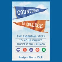 Countdown to College by Monique Rinere audiobook