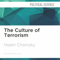 The Culture of Terrorism by Noam Chomsky audiobook
