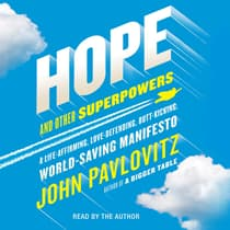 Hope and Other Superpowers by John Pavlovitz audiobook