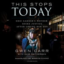 This Stops Today by Gwen Carr audiobook