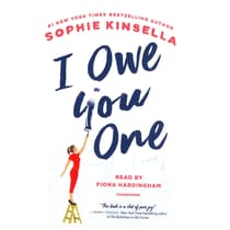 I Owe You One by Sophie Kinsella audiobook