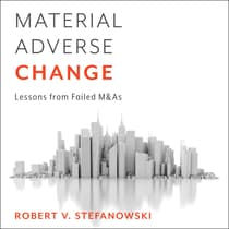 Material Adverse Change by Robert Stefanowski audiobook