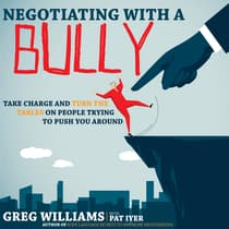 Negotiating with a Bully by Greg Williams audiobook