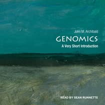 Genomics by John M. Archibald audiobook
