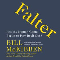 Falter by Bill McKibben audiobook