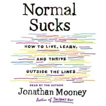 Normal Sucks by Jonathan Mooney audiobook