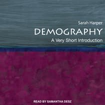 Demography by Sarah Harper audiobook