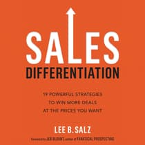 Sales Differentiation by Lee B. Salz audiobook