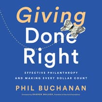 Giving Done Right by Phil Buchanan audiobook