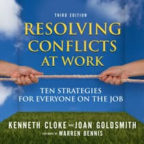 Resolving Conflicts at Work by Joan Goldsmith audiobook