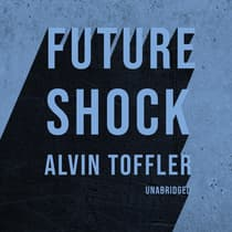 Future Shock by Alvin Toffler audiobook