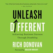 Unleash Different by Rich Donovan audiobook