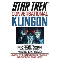 Star Trek: Conversational Klingon by Marc Okrand audiobook