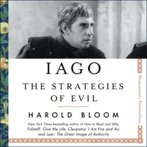 Iago by Harold Bloom audiobook