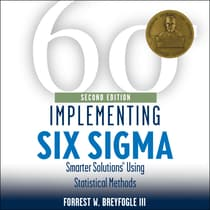 Implementing Six Sigma by Forrest W. Breyfogle audiobook