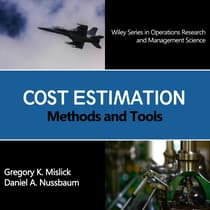 Cost Estimation by Gregory K. Mislick audiobook