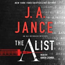 The A List by J. A. Jance audiobook