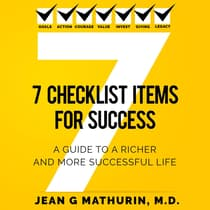 7 CHECKLIST ITEMS FOR SUCCESS by Jean G Mathurin audiobook
