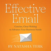 Effective Email by Natasha Terk audiobook