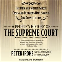 A People's History of the Supreme Court by Peter Irons audiobook
