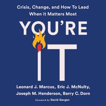 You're It by Eric J. McNulty audiobook