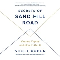 Secrets of Sand Hill Road by Scott Kupor audiobook