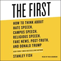 The First by Stanley Fish audiobook
