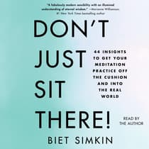 Don't Just Sit There! by Biet Simkin audiobook