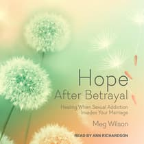 Hope After Betrayal by Meg Wilson audiobook