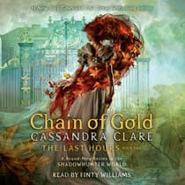 Chain of Gold by Cassandra Clare audiobook