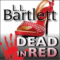 Dead In Red by Lorna Barrett audiobook