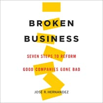 Broken Business by Jose R. Hernandez audiobook