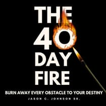 The 40 Day Fire by Jason C. Johnson audiobook