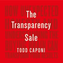 The Transparency Sale by Todd Caponi audiobook