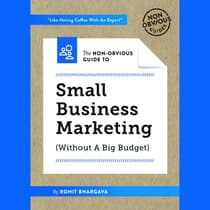 Non-Obvious Guide to Marketing Your Small Business by Rohit Bhargava audiobook