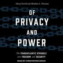 Of Privacy and Power by Henry Farrell audiobook