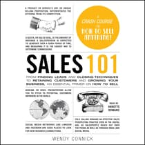Sales 101 by Wendy Connick audiobook