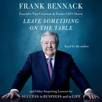 Leave Something on the Table by Frank Bennack audiobook