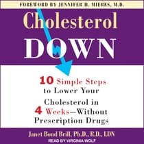 Cholesterol Down by Janet Bond Brill audiobook