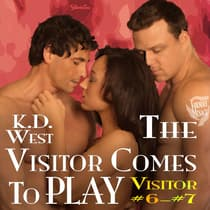 The Visitor Comes to Play by K.D. West audiobook