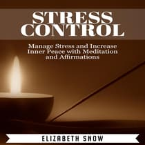 Stress Control by Elizabeth Snow audiobook