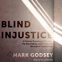 Blind Injustice by Mark Godsey audiobook
