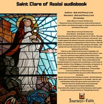 Saint Clare of Assisi audiobook by Bob Lord audiobook